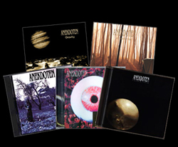 5 CD bundle. Anekdoten's 5 first studio albums.